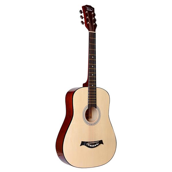 FT-D38-N Акустическая гитара, с вырезом, цвет натуральный, Fante