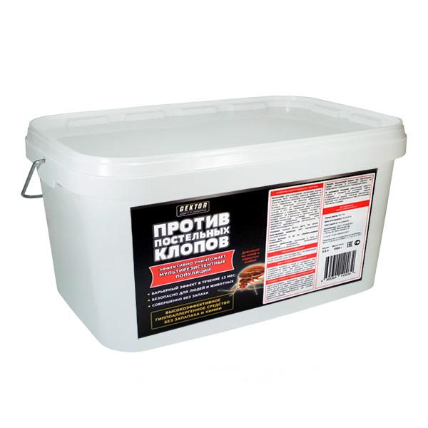 Средство GEKTOR (ГЕКТОР) против клопов, пластиковое ведро, 1 кг