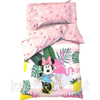 """Детское постельное бельё 1,5 сп """"Spring Palms"""", Минни Маус"""