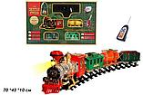 """Радиоуправляемая железная дорога play smart """"золотая стрела"""" ( свет,звук,дым), фото 2"""