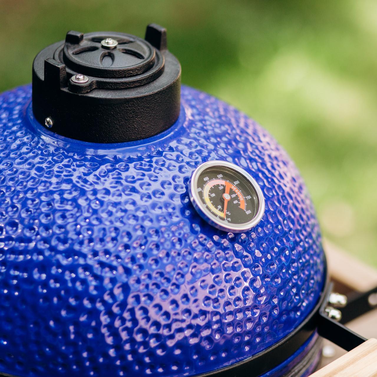 Гриль - барбекю керамический ,,CAMADO GRILL'' 14 дюймовый - Blue