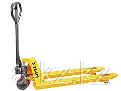 Тележка гидравлическая XILIN г/п 2000 кг DB (полиуретановые  колеса)