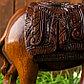 """Сувенир """"Слон"""" резной коричневый, фото 7"""