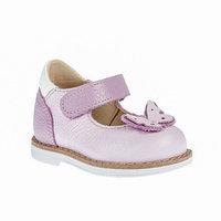 Туфли детские, цвет сиреневый, размер 19