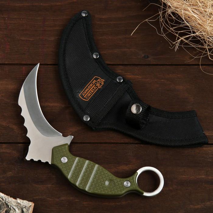 Нож-керамбит болотный