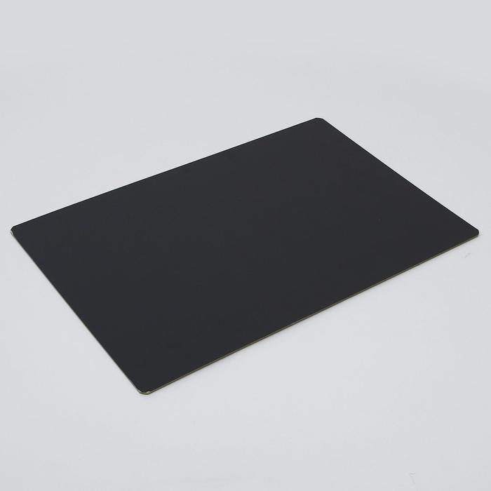 Подложка, золото-черный, волна, 40 х 60 см, 3,2 мм
