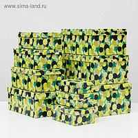 "Набор коробок 10 в 1 ""Васаби"", 30,5 х 20 х 13 - 12 х 6,5 х 4 см"