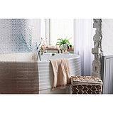 Штора для ванной комнаты Доляна «Диско 3D», 180×180 см, EVA, цвет коричневый, фото 7