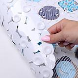 Коврик для ванны Доляна «Абстракция», 35×65 см, галька, фото 2