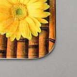 Набор ковриков для ванны и туалета «Лето» 2 шт, 79×49, 49×40 см, фото 3