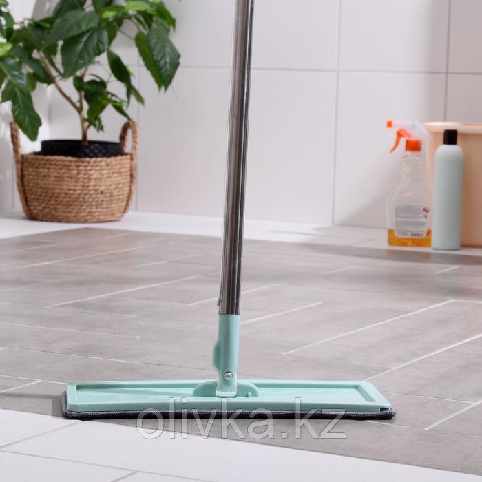 Швабра к набору для мытья пола с вертикальным отжимом 32×12×130 см