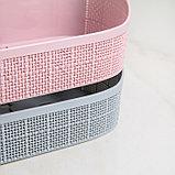 Корзина для хранения, цвет МИКС, фото 5