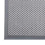 Коврик резиновый 60х90 см h=4,5 мм «ТВИСТ» цвет серый, фото 2
