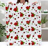 Вакуумный пакет для хранения вещей «Розы», 50×60 см, фото 2