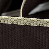 Органайзер для белья «Ваниль», 7 ячеек, 33×30×8 см, цвет коричнево-бежевый, фото 3