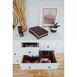 Органайзер для белья «Ваниль», 7 ячеек, 33×30×8 см, цвет коричнево-бежевый, фото 6