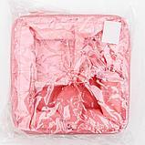 Корзина для хранения с ручками «Кактус», 4 ячейки, 20×20×11 см, цвет розовый, фото 5