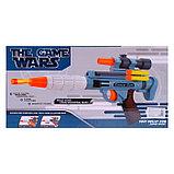 Пистолет «Космическая пушка», стреляет мягкими пулями, с мишенями, фото 3