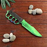 Сувенир деревянный нож 4 модификация, 5 расцветов в фасовке, МИКС, фото 2