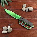 Сувенир деревянный нож 4 модификация, 5 расцветов в фасовке, МИКС, фото 3