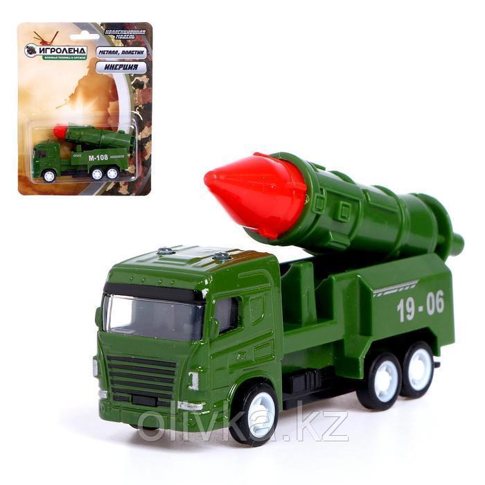 Машина металлическая «Военная техника», инерция, МИКС