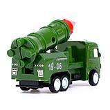 Машина металлическая «Военная техника», инерция, МИКС, фото 3