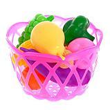 """Набор продуктов """"Фрукты и овощи в корзине"""", 11 предметов, МИКС, фото 3"""