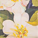 Комплект штор Дефиле розовый штора (147х267 см), тюль (294х160 см), габардин, пэ 100%, фото 2