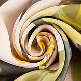 Комплект штор Дефиле розовый штора (147х267 см), тюль (294х160 см), габардин, пэ 100%, фото 4