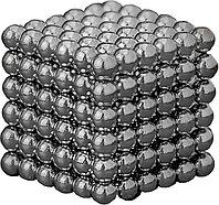 Антистресс магнитный Мини-Неокуб, 216 шариков d=0.3 см. (серебро)