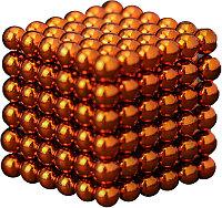 Антистресс магнитный Мини-Неокуб, 216 шариков d=0.3 см. (оранжевый)