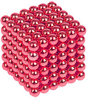 Антистресс магнитный Мини-Неокуб, 216 шариков d=0.3 см. (малиновый)