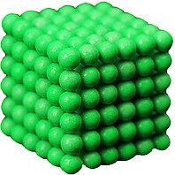 Антистресс магнитный Мини-Неокуб, 216 шариков d=0.3 см. (ярко-зеленый)