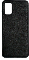 Чехол A-case для Samsung Galaxy A41 Leather Series (Black, 003720)