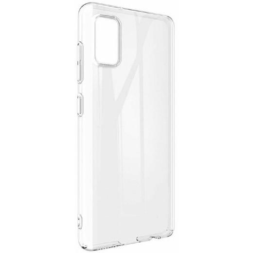 Чехол для Samsung Galaxy А41 (Прозрачный, 002167) - фото 1