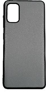 Чехол A-case для Samsung A41 Leather Series (Серый, 002440)