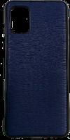 Чехол A-case для Samsung A21S Leather Series (Blue, 002419)