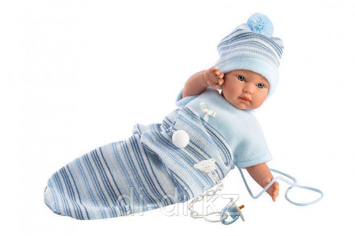 LLORENS Кукла малыш 30 см с конвертом-переноской