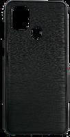 Чехол A-case для Samsung Galaxy A21S LV Leather Series (Black, 003744)
