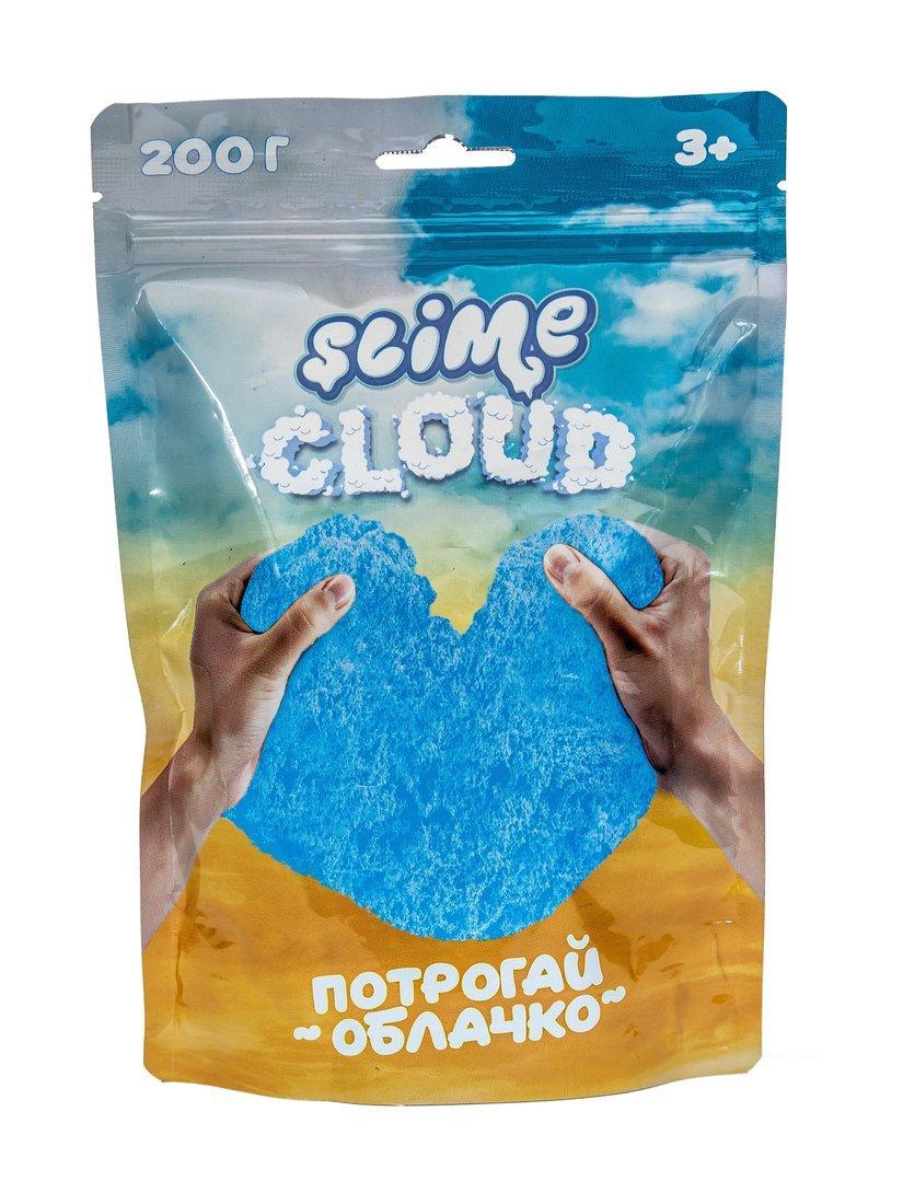 """Жвачка для рук Cloud-Slime Воздушный слайм """"Голубое Небо"""" с ароматом тропик, 200 гр."""
