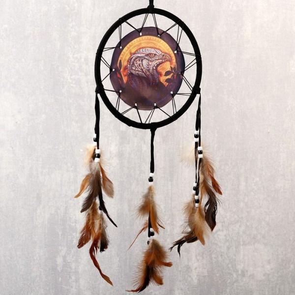"""Ловец снов """"Огненный орёл"""", 20 см"""