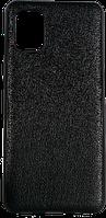 Чехол A-case для Samsung Galaxy A31 Leather Series (Black, 003706)