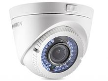 Hikvision DS-2CE56C2T-VFIR3 HD-TVI камера уличная 1Мп купольная с ИК-подсветкой до 40м