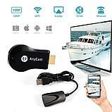 Беспроводной адаптер Anycast M4 Plus — HDMI Wi-Fi для телевизора., фото 3