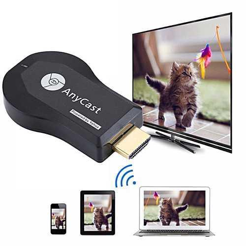 Беспроводной адаптер Anycast M4 Plus — HDMI Wi-Fi для телевизора