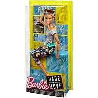Кукла Barbie Безграничные движения Йога Шатенка, 29 см, FTG82