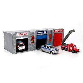 Наборы, гаражи, авто-трассы