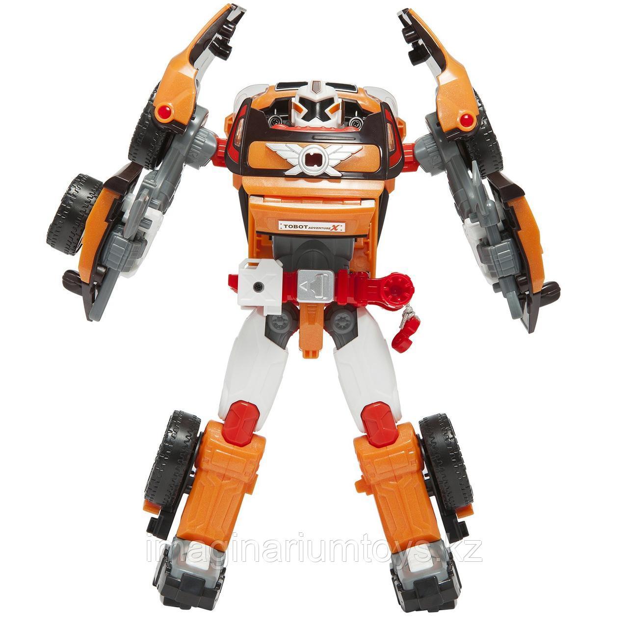 Тобот Приключения X робот трансформер большой