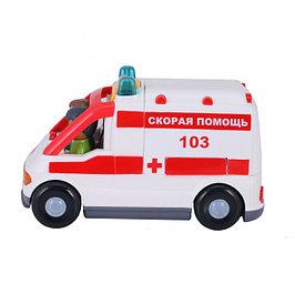 Муниципальная техника (скорая помощь, пожарные и тд)