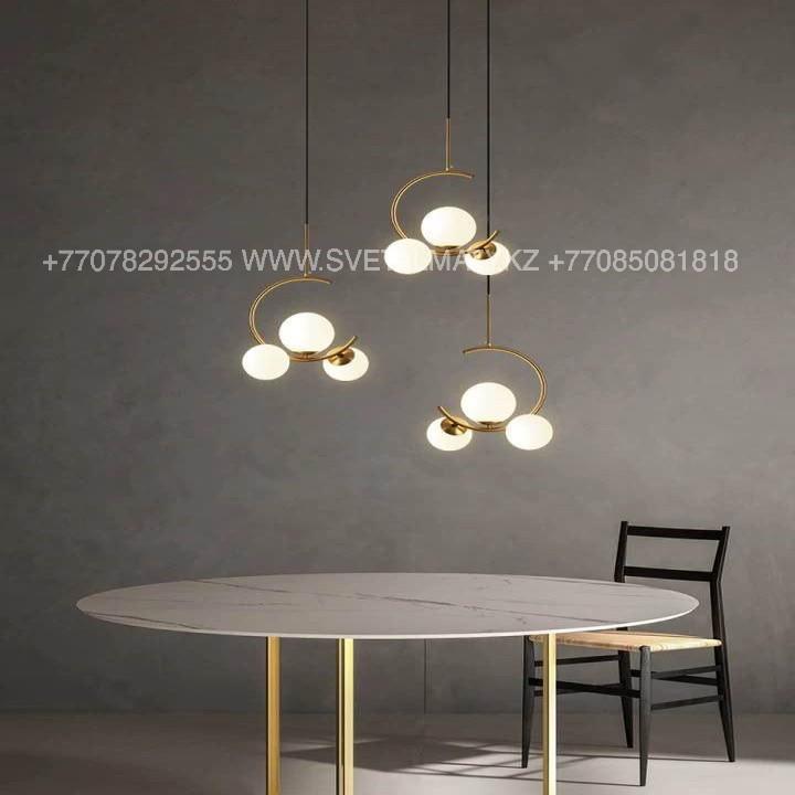 Современная люстра на 3 лампы